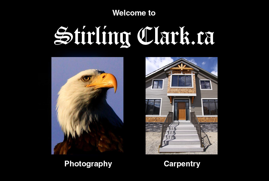 Stirling Clark Photography and Carpentry